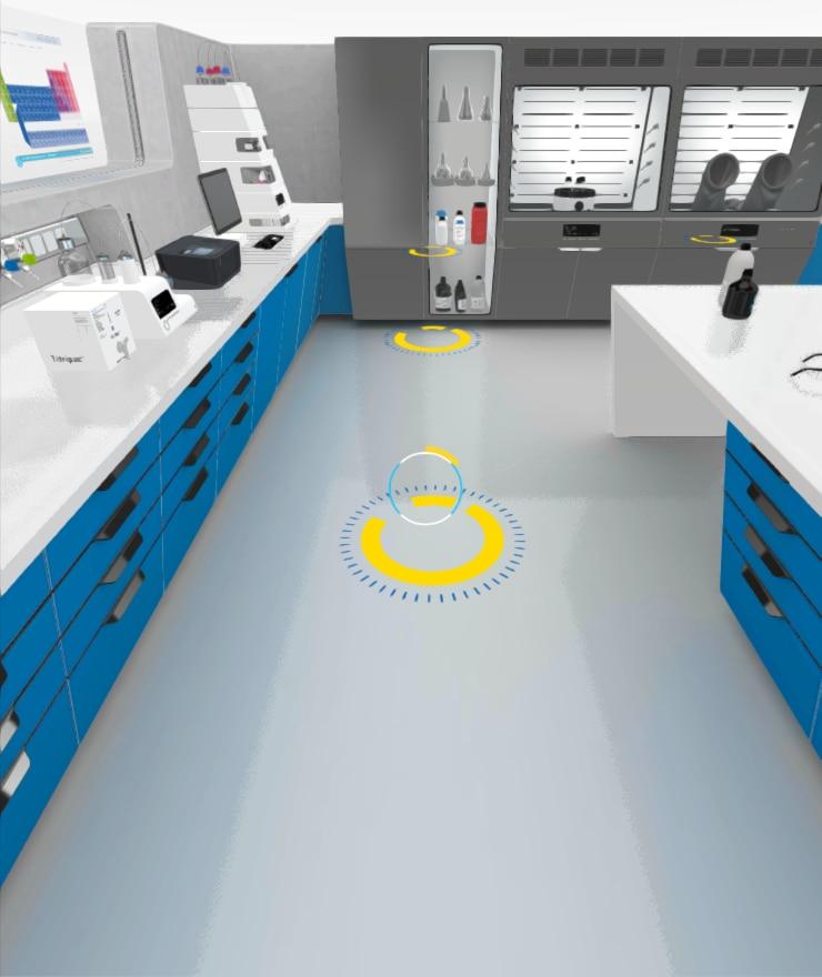 3d virtual lab app merck