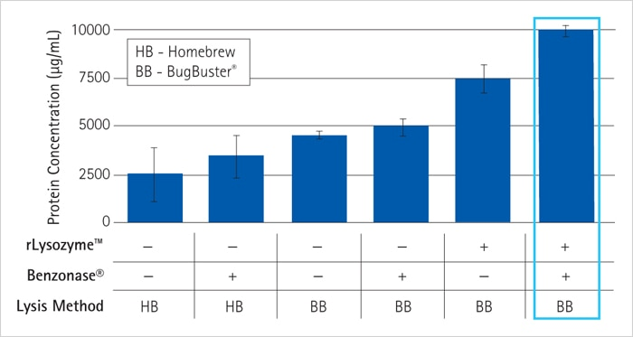 Optimizing a protein extraction protocol with BugBuster® reagent