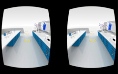 3D Virtual Lab View