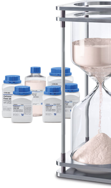 Performance. Consistency. Homogeneity. Cellvento™ CHO chemically defined cell culture media.